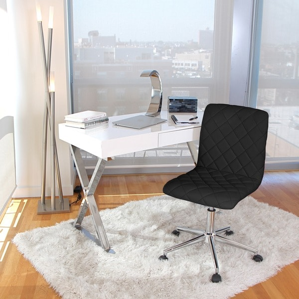 Luster Modern Home Office Desk Free Shipping Today Overstock