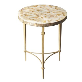 Yellow Shell Table