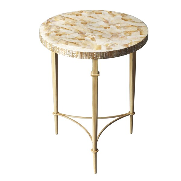 Yellow Shell Table Free Shipping Today 16643172