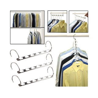 As Seen On TV Metal Space Saving Hangers 5-piece Set