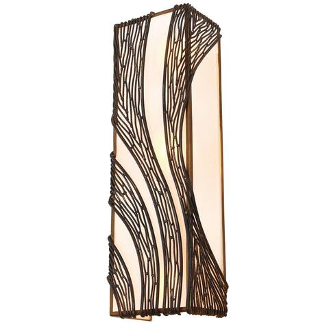 Varaluz Flow 3-light Wall Sconce