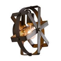 Varaluz Reel 1-light Rustic Bronze Wall Sconce