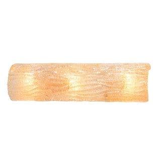 Alternating Current Brilliance 3-light Champagne Wall Sconce
