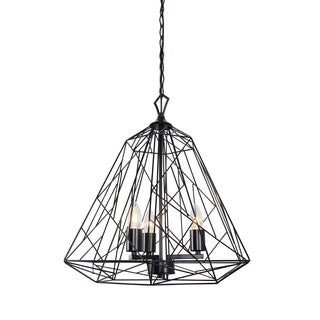 Varaluz Wright Stuff 3-light Black Pendant