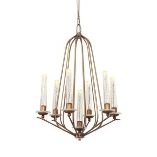 Varaluz Madison 7-light Hammered Ore Chandelier