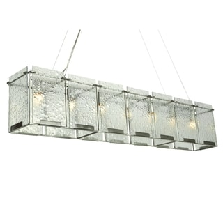 Varaluz Rain 7-light Linear Pendant