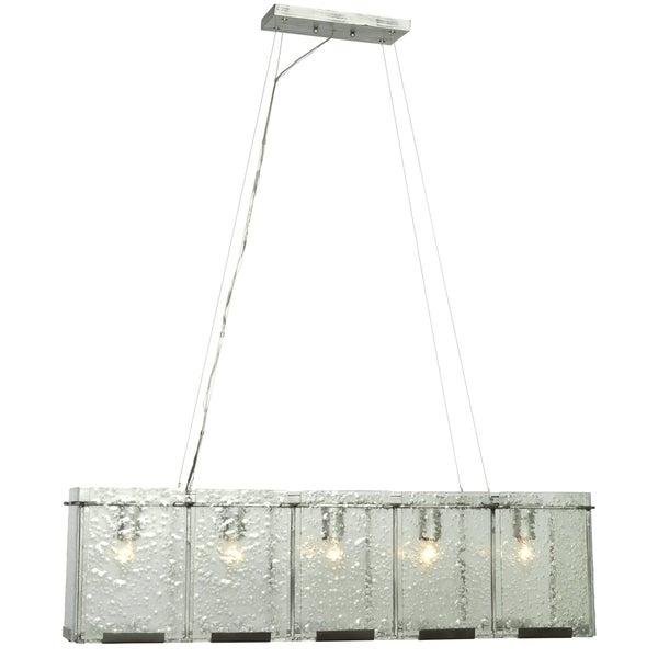 Varaluz Rain 5-light Rainy Night Linear Pendant