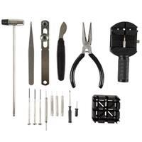 16 Piece Watch Repair Kit- DIY Tool Set for Repairing Watches by Stalwart