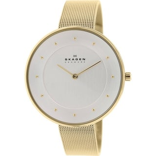 Skagen Women's SKW2141 Gitte Quartz Goldton Stainless Steel Watch - GOLD