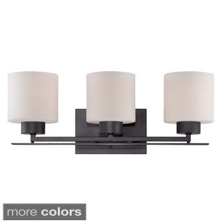 Nuvo Parallel 3-Light Vanity - 21 x 7.75 x 8.75 (2 options available)