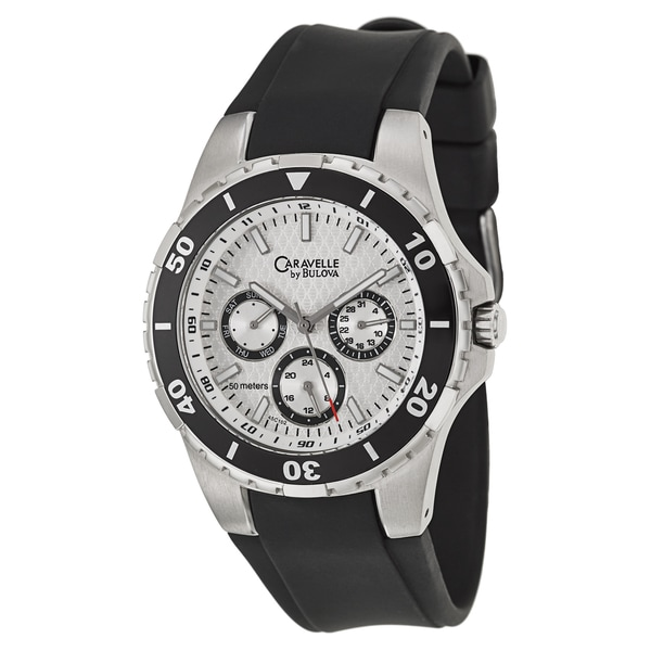 6f5ebc5d8 Shop Caravelle by Bulova Men's Sport Stainless Steel Quartz Watch - Free  Shipping Today - Overstock - 9460148