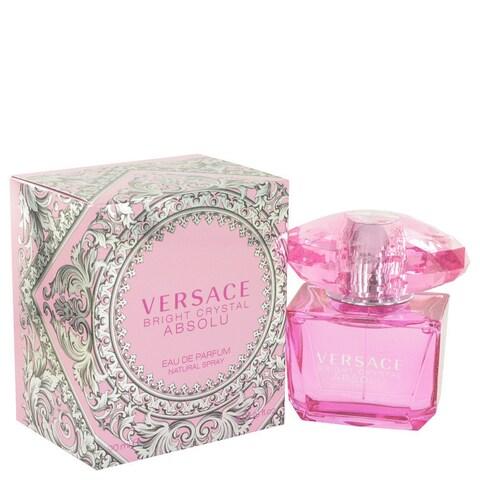 Versace Bright Crystal Absolu 3-ounce Eau de Parfum Spray