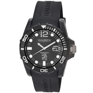 Haurex Italy Men's Caimano Collection Diver's Watch
