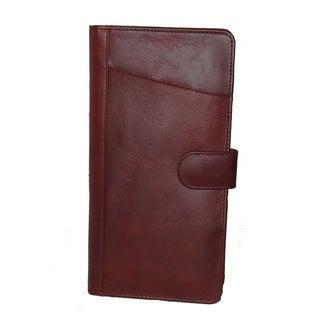 King Stallion Collection Leather Executive Traveler Document Passport Holder