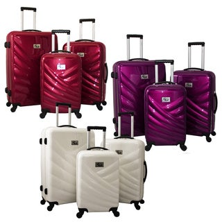 Chariot Veneto 3-piece Hardside Lightweight Upright Spinner Luggage Set