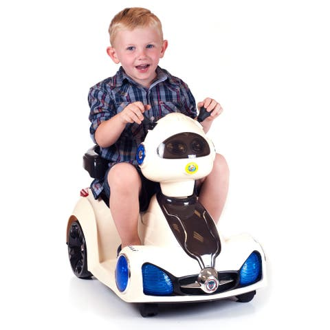 Ride on Toy, Remote Control Space Car for Kids by Lil Rider  Battery Powered, Toys for Boys & Girls 2- 6 Year Old