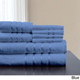 Windsor Home 100-percent Cotton 650 GSM 8-piece Towel Set