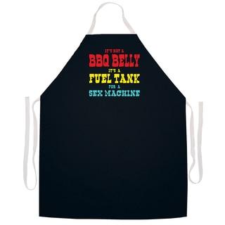 'BBQ Belly Sex Machine' BBQ Grill Apron-Black