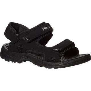 Men's Fila Transition Black/Black/Metallic Silver (More options available)