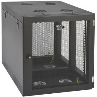 Tripp Lite 12U Wall Mount Rack Enclosure Server Cabinet Side Mount Wa