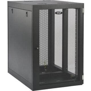 Tripp Lite 18U Wall Mount Rack Enclosure Server Cabinet Side Mount Wa