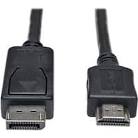 Tripp Lite 10ft DisplayPort to HDMI Adapter Converter Cable Video / A