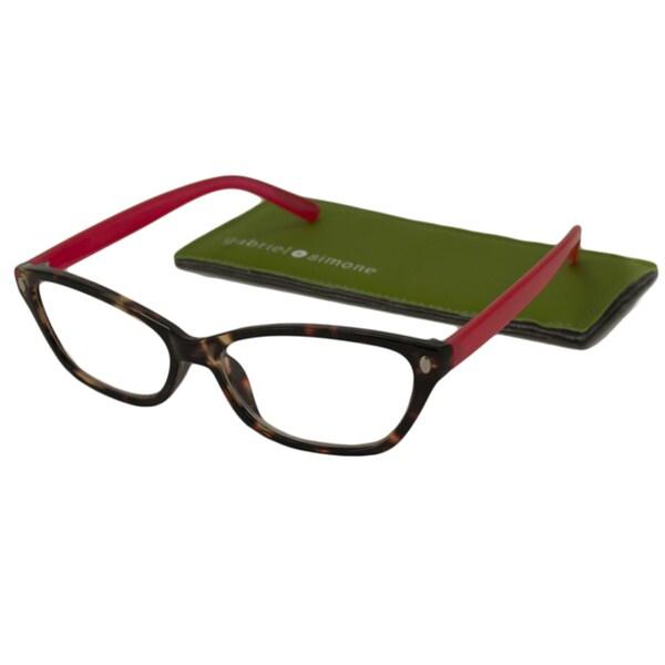 gabriel s aimee rectangular reading glasses