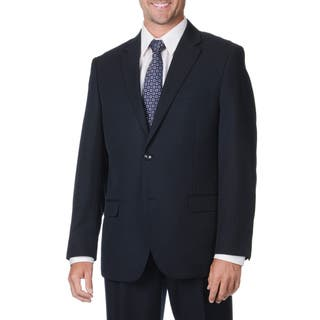 Bolzano Uomo Collezione Men's Big & Tall Navy Suit|https://ak1.ostkcdn.com/images/products/9463645/P16646765.jpg?impolicy=medium