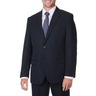 Bolzano Uomo Collezione Men's Big & Tall Navy Suit