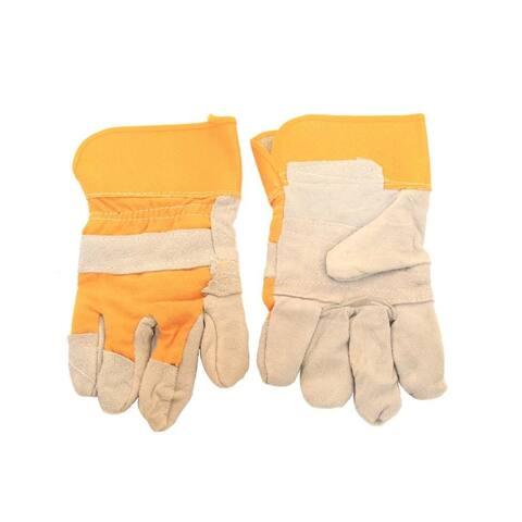 Heavy Duty Cowhide Leather Work Gloves