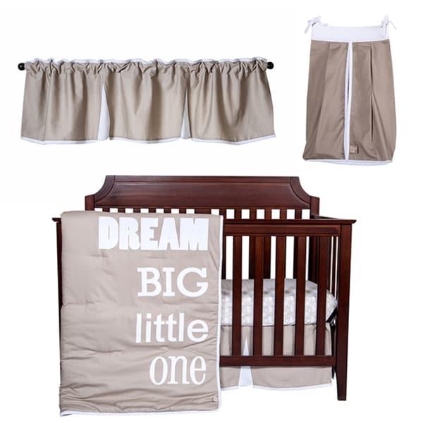 Trend Lab Dream Big Little One 5piece Crib Bedding Set Free