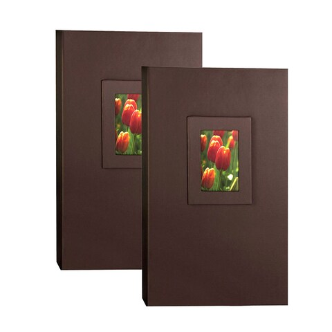 Kleer Vu 4x6 300 Embossed Paper Photo Album (Pack of 2)