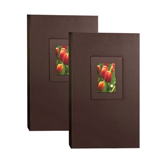 Kleer Vu 4x6 300 Embossed Paper Photo Album (Pack of 2)