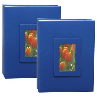 Kleer Vu 2up 4x6 200 Embossed Paper Photo Album (Pack of 2) (3 options available)