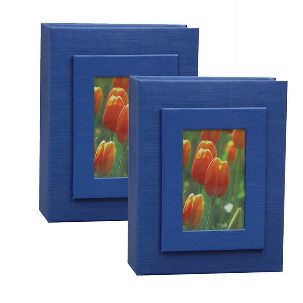Kleer Vu 4x6 100 Embossed Paper Photo Album (Pack of 2) (...