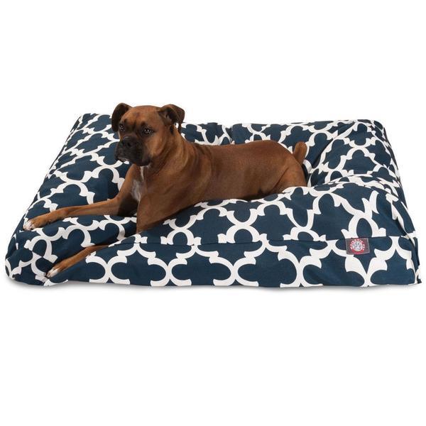 Shop Majestic Pet Trellis Indoor/Outdoor Rectangle Dog Bed - Free ...