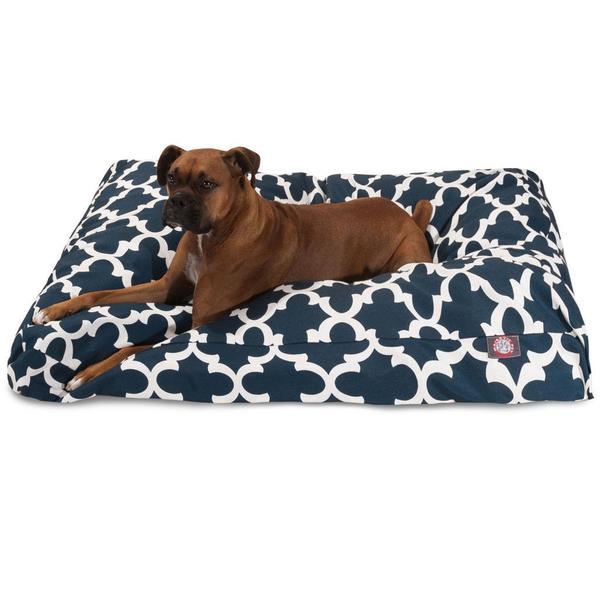 Majestic Pet Trellis Indoor/ Outdoor Rectangle Dog Bed - Free ...