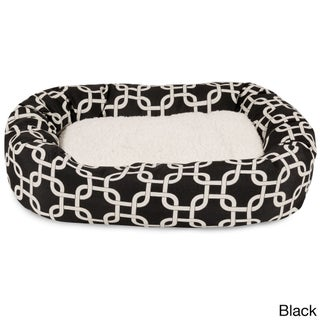 Majestic Pet Links Sherpa Bagel Pet Bed (3 options available)