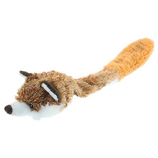 Mutlipet Bouncy Burrow Buddies 20-inch Fox Dog Toy