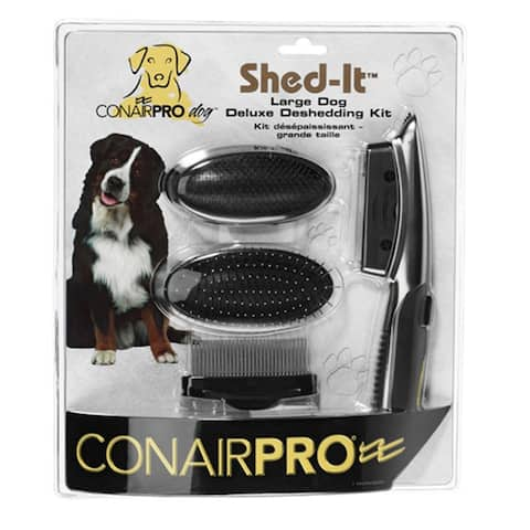 Conair Pet Shed it Deluxe Deshedding Pet Grooming Kit - Multi