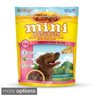 Zuke's Mini Naturals Roasted Pork Recipe Dog Treats
