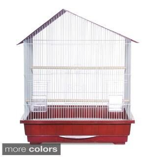 Prevue Pet Products Offset Roof Cockatiel Bird Cage