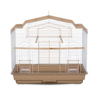 Prevue Pet Products Barn Bird Cage (Option: Brown)