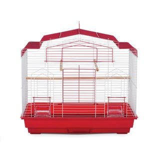 Prevue Pet Products Barn Bird Cage (Option: Red)