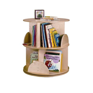 Whitney Brothers Kids 2-level Carousel Book Stand