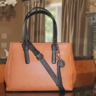 Concealed Carrie Casual Carrie Color Block Satchel|https://ak1.ostkcdn.com/images/products/9464123/P16647243.jpg?impolicy=medium