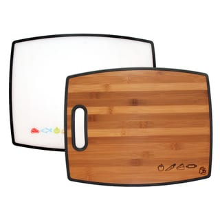 Totally Bamboo 2-Sided Poly Cutting Board
