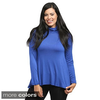 24/7 Comfort Apparel Women's Turtleneck Sweater