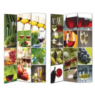 Wine Themed Room Divider