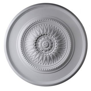30-inch Round Classic Rays Ceiling Medallion